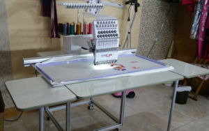 Computerized Single Head Embroidery Machine for Garment/Curtain/Fabric