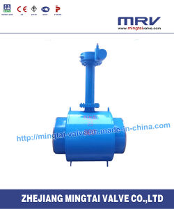 Gear Operated Fully Welded Ball Valve