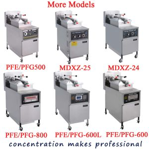 Pfe-600L Kfc Broasted Electric Deep Fried Chicken Pressure Fryer pictures & photos