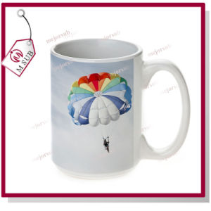 15oz Sublimation Promotional Ceramic Coffee Mug in White pictures & photos