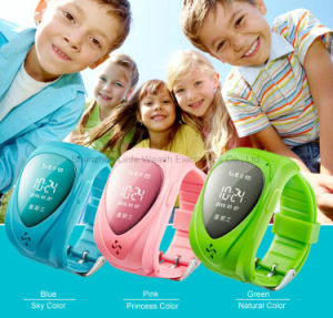 Jm09 GPS Tracker Smart Kid Children Bluetooth Watch SIM for Android Ios Anti-Lost Sos Pink pictures & photos