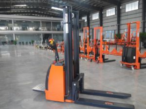 Full Electrc Stacker with Certificates pictures & photos