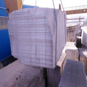 Natural Stone White Wooden Grain Marble Blocks pictures & photos