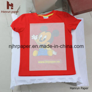 Easy Cutting High Quality Dark T-Shirt Heat Transfer Paper for 100% Cotton Fabric pictures & photos