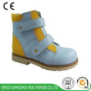 Grace Ortho New Style Leather Children Orthopedic Boot 4715780 pictures & photos