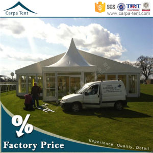 15mx45m Temporary Tent House Glass Wall Movable Royal Golf Tents pictures & photos