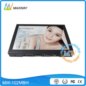 Portable 10.1 Inch TFT LCD Monitor with High Brightness (MW-102MBH) pictures & photos