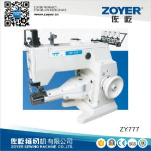 Cylinder-Bed 3-Needle 5-Thread Double Sides Interlock Zoyer Sewing Machine (777-603CB) pictures & photos