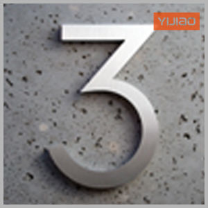 Metal Number Wall Hanging for Home Decoration pictures & photos