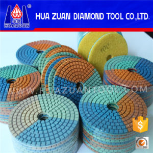 New Arrival 3 Color Polishing Pad for Marble Granite pictures & photos