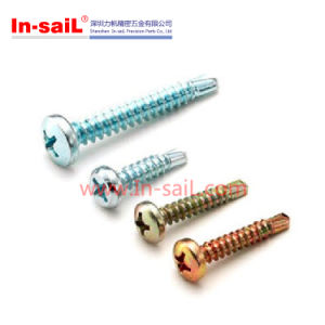 DIN7504 Stainless Steel Cross Recessed Pan Head Self-Drilling Screws pictures & photos