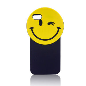 Smile Mouth Eye Silicone Cartoon Phone Case for iPhone 6s/6plus Mobile Accessories (XSF-013)