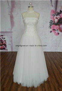 Sweetheart Beading Bridal Gowns Jewelry Sash Sweetheart Wedding Dress AG075 pictures & photos