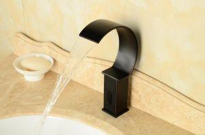 2015 New Oil Rubber Black Color Sensor Tap pictures & photos