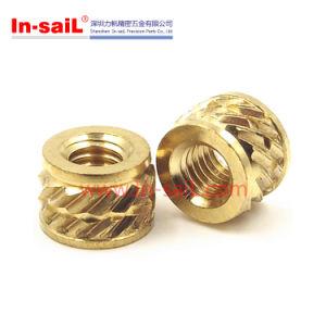 China Fastener Manufacturer M8 Brass Insert Nut pictures & photos