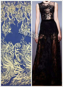 Fashion Wedding Dress Polyester Lace Fabric, DIY Accessories