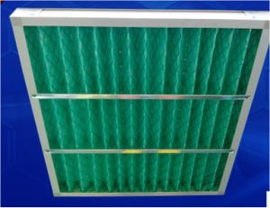 Heat-Resistant Fiberglass Media Primary Efficiency Panel Air Filters pictures & photos