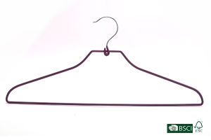 Eisho Garment Hanger Strong Factory Supply PVC Metal Hanger pictures & photos