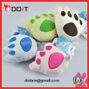 Soft Plush Bear Paw Pet Dog Toys Product Supply pictures & photos