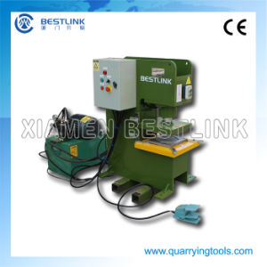 China Good Quality Automatic Paving Stone Cutting Press Machine pictures & photos