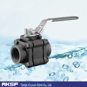 A105 Thread/ Flanged Forged Ball Valve pictures & photos