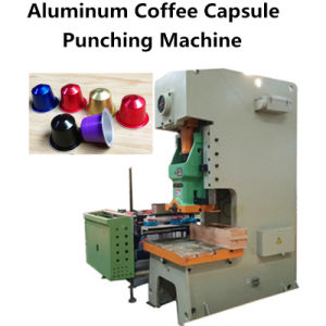 Aluminum Coffee Capsule Punching Machine pictures & photos