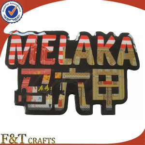 Custom Melaka Promotional Gifs Epoxy Fridg Magnet Photo Frame (FTFM2260A) pictures & photos