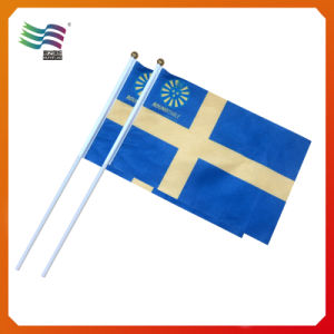 Promotional Custom Hand Waving Flag Hand Held Flag (HYHF-AF063) pictures & photos