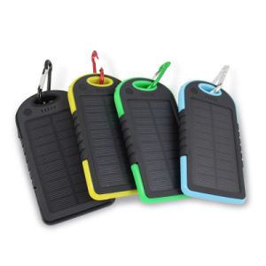 8000mAh Solar Battery Charger Waterproof Solar Power Bank Bateria Externa Portable Charger Powerbank pictures & photos