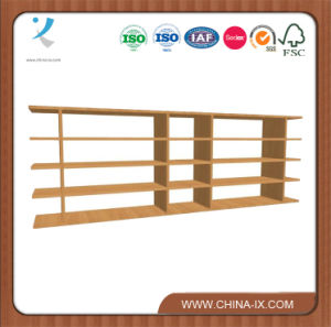 6′ Wide Classic Multi Media Console CD Display Shelf pictures & photos