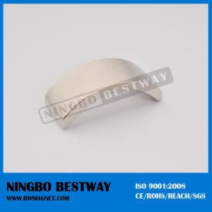 Hot Sale Ni Coating Arc Permanent Neodymium Magnet pictures & photos