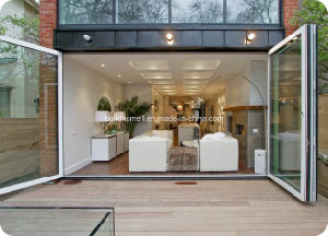 Super Smooth Tech Sliding Folding Aluminium Doors pictures & photos