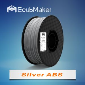 1.75mm ABS Filament for 3D Printer Silver Color pictures & photos