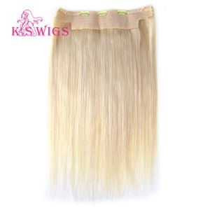 Flip in Hair Extension Brazilian Remy Human Hair pictures & photos