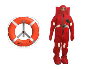 Thermal Insulation Immersion Suit with Reflective Tape Solas/Med Approved pictures & photos