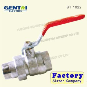 Hot Selling Brass Forged Female Ball Valve with Iron Handle pictures & photos