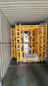 Painted Scaffolding Walk Through Frame with Yellow Color pictures & photos