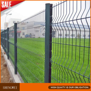 Cheap Triangular Bending Forest Boundary Protective Wire Mesh Fence pictures & photos