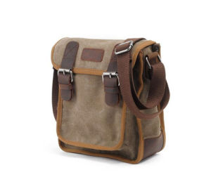 Men′s Leisure Outdoor Crossbody Shoulder Canvas Messenger Bag pictures & photos