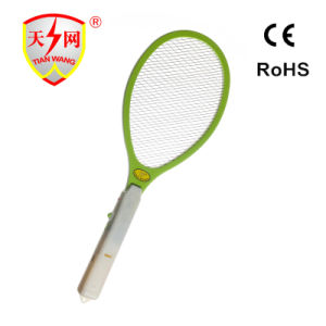 European Ce & RoHS 7000V Output Electric Fly Swatter with Cleaning Brush pictures & photos