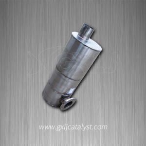 Euro 4 Gasoline and Diesel Engine Metallic Housing and Ceramic Core SCR Catalytic Muffler Converter pictures & photos