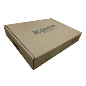 Double Wall Corrugated Paper Box with Black Logo pictures & photos