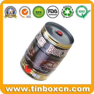 Metal Tin Can for 5 Litres Tinplate Beer Keg pictures & photos