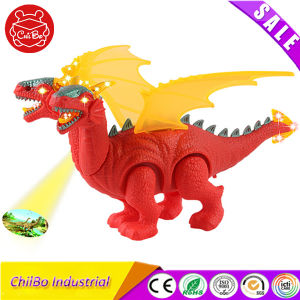 Hot Item Kids Two-Headed Dinosaur Light up Toy pictures & photos