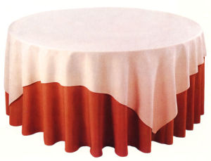 100% Polyester Damask Table Cloth