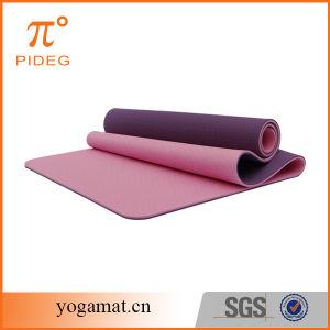 Custom Design Super Anti Slip TPE Yoga Mat pictures & photos