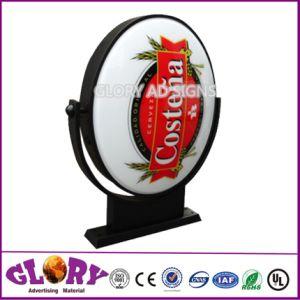 Energy Saving Vacuum Advertising LED Rotating Light Box pictures & photos