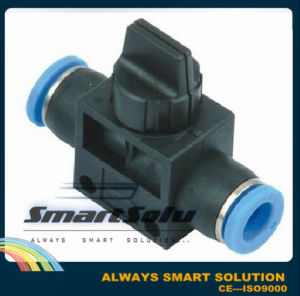 Ningbo Smart High Quality Hvss Hand Valve Pneumatic Fittings pictures & photos