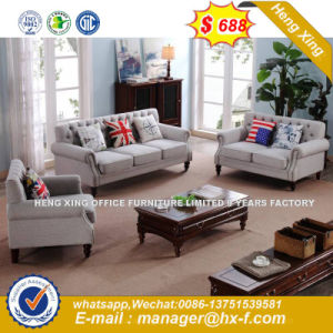 Italy Design Classic Wooden Office Furniture Leather Office Sofa (HX-SN8075) pictures & photos