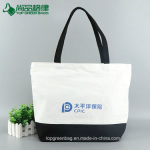 Fashion Customized Canvas Grocery Shopping Tote Bag pictures & photos